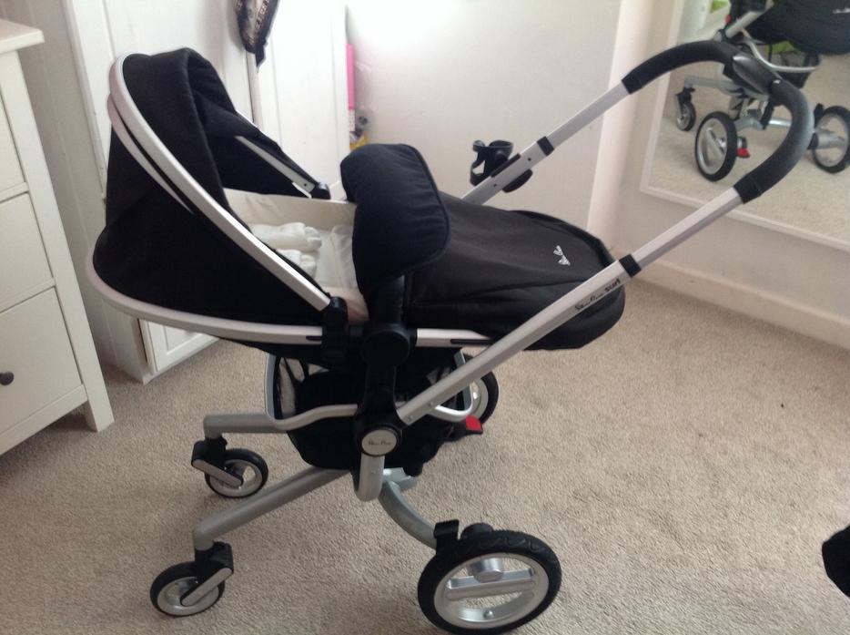silver cross surf pram pushchair car seat wednesbury dudley mobile. Black Bedroom Furniture Sets. Home Design Ideas
