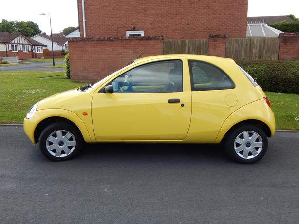 Ford Ka Studio  Yellow Perfect Condition  Open To Offers