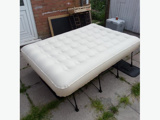 ez bed automatic inflatable double bed for camping or spare guest bed - Ez Bed