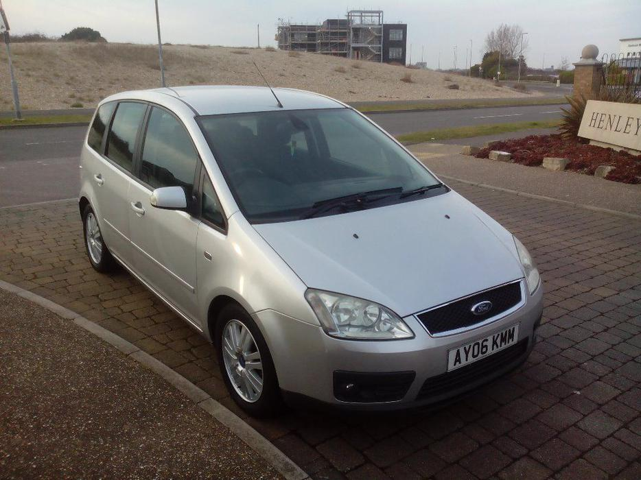 2006 ford focus c max 1 6 tdci ghia 2 owners full service walsall dudley. Black Bedroom Furniture Sets. Home Design Ideas
