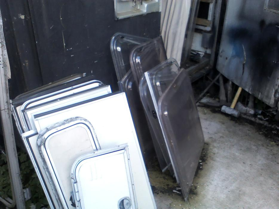 Caravan parts for sale tipton walsall for Windows doors for sale