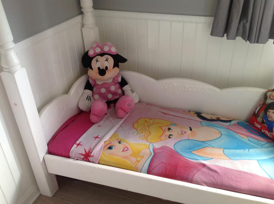 Princess Four Poster Bed Outside Black Country Region Dudley