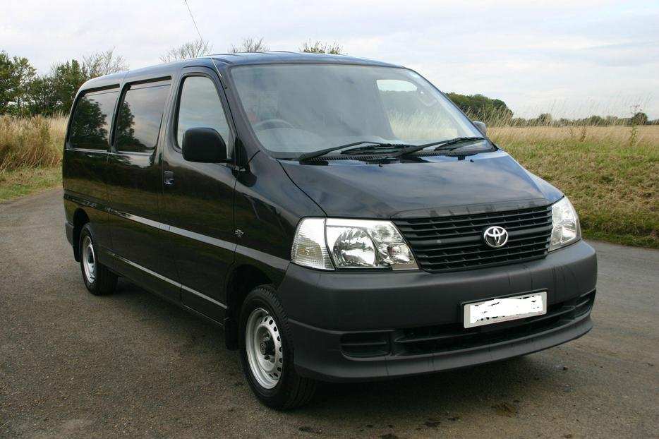 Commercial Van For Sale >> TOYOTA HIACE 300 D-4D LWB,2007 £2700 WOLVERHAMPTON, Sandwell