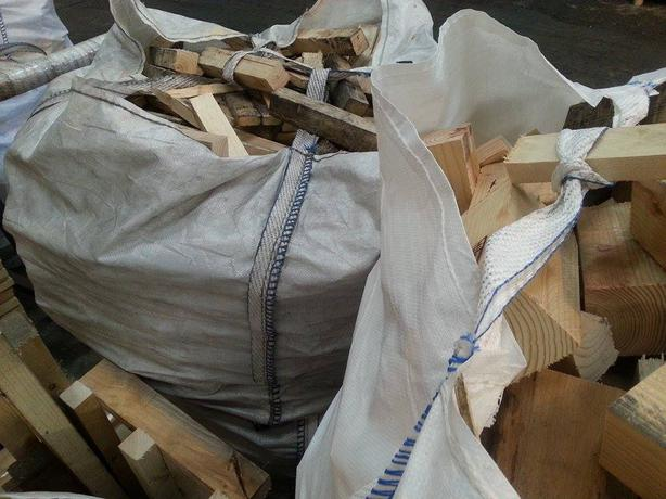 BUILDERS BAG OF HARDWOOD & SOFTWOOD OFF-CUTS (FOR LOG BURNERS)