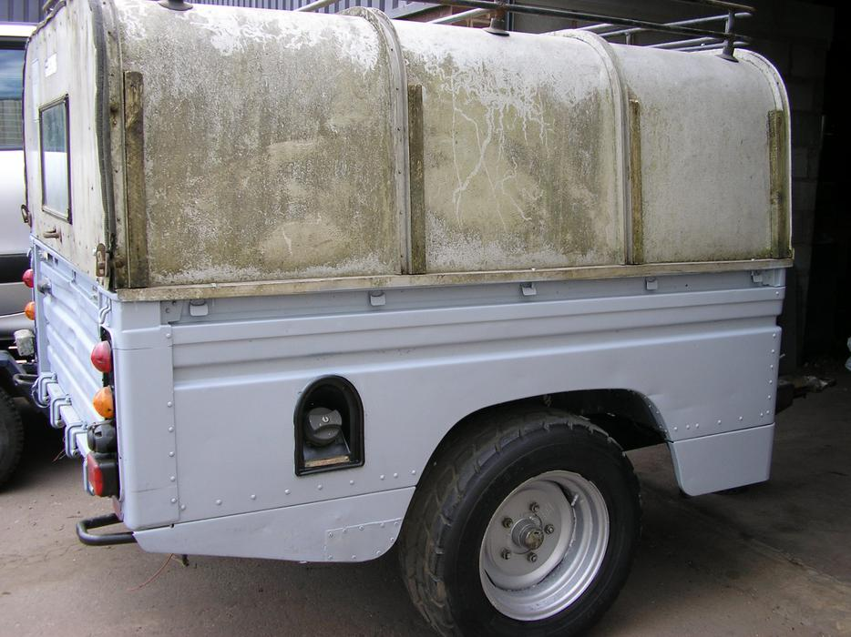 £850 · land rover trailer offroad/overland/expedition /camper project