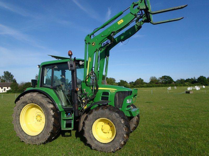 John Deere Tractor Ad : John deere premium tractor with jd loader £