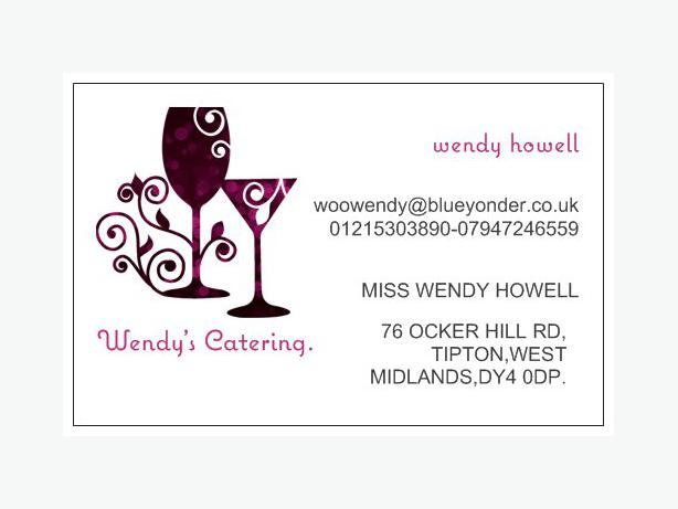 wendy's catering x