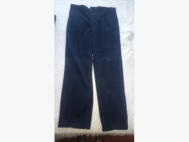 brand new mens dark blue cord jeans w36 L33 £6.50