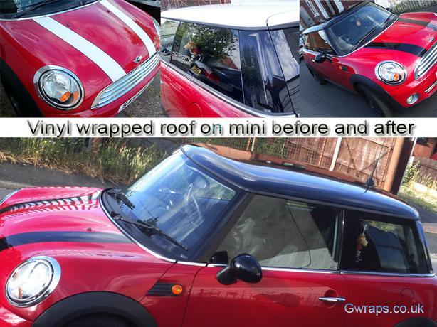 Car roofs vinyl wrapped from £80