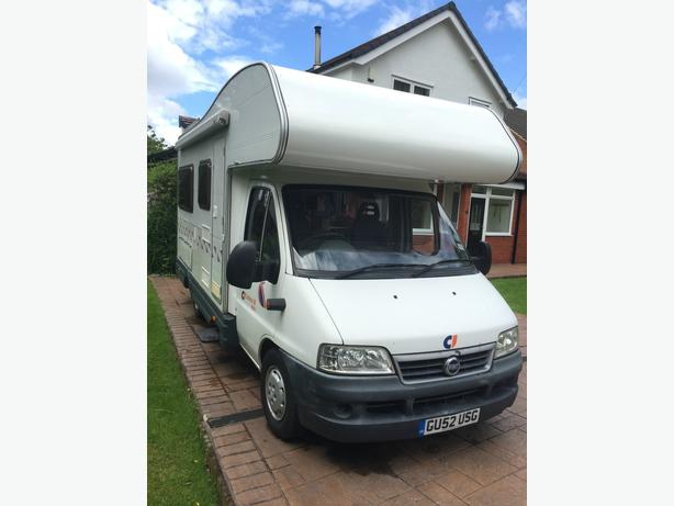 motorhome coachbuilt fiat ducato carioca 10 tettenhall. Black Bedroom Furniture Sets. Home Design Ideas