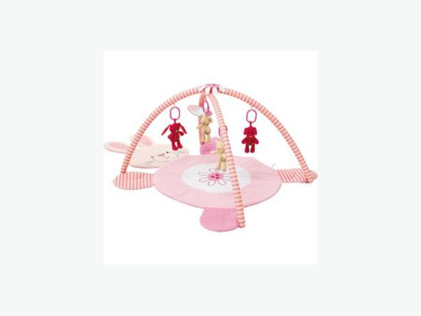 Chad Valley Baby Playmat and Gym - Pink.