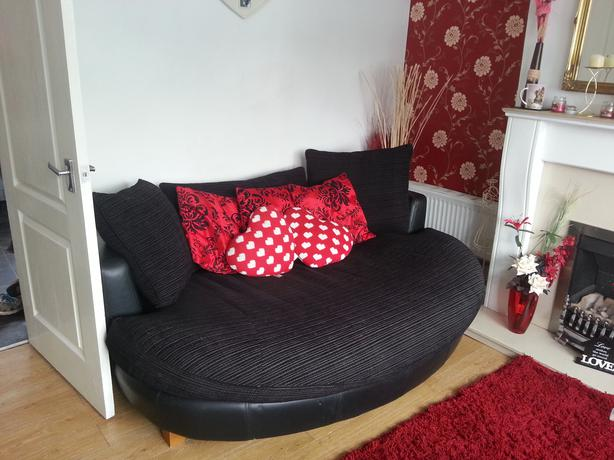 Dfs Cuddle Sofa And Swivel Chair Pelsall Wolverhampton