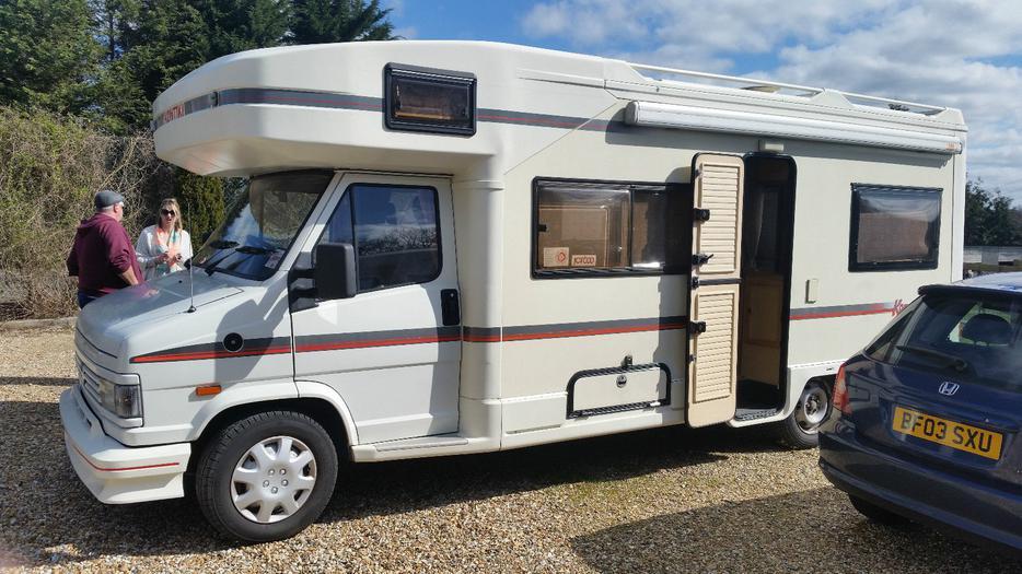 mobile camper van caravan fiat ducato outside birmingham birmingham. Black Bedroom Furniture Sets. Home Design Ideas