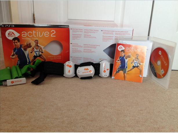 ps3 active 2 sports trainer boxed brand new