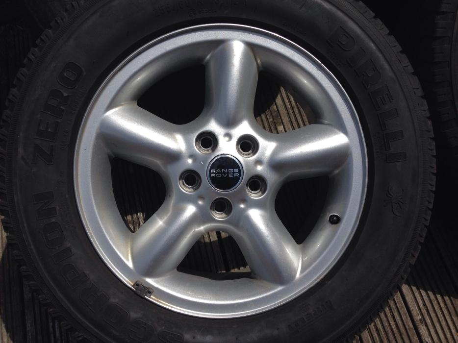 set of 4 range rover alloys and tyres SANDWELL, Dudley