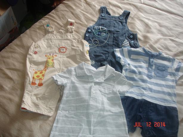 19 item bundle of boys 3-6 months clothes