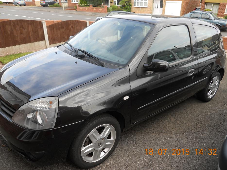 for sale renault clio 1 2 campus sport 16v dudley dudley. Black Bedroom Furniture Sets. Home Design Ideas