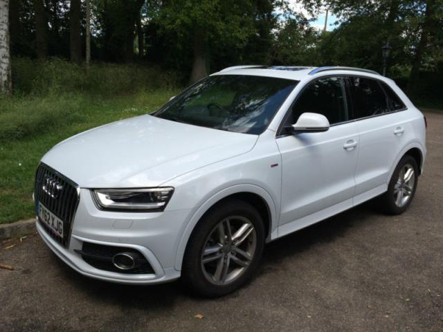 Audi Q3 Quattro S Tronic S Line 2 0 17 Walsall Dudley