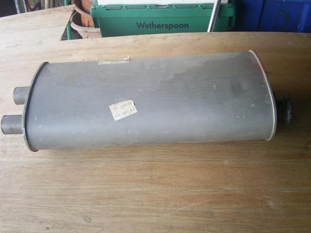 range rover silecer box