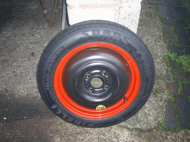 spare wheel and tyre to fit ford focus