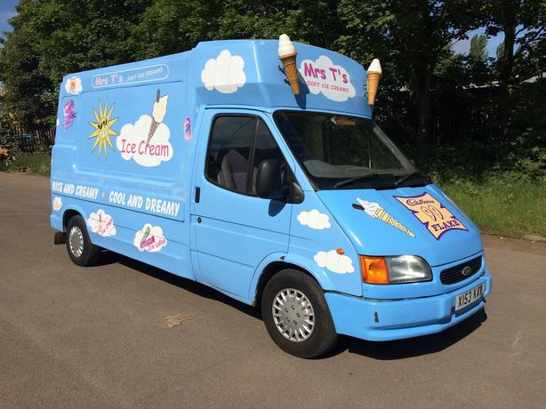 2000 Ford Transit Sof Ice Cream Van