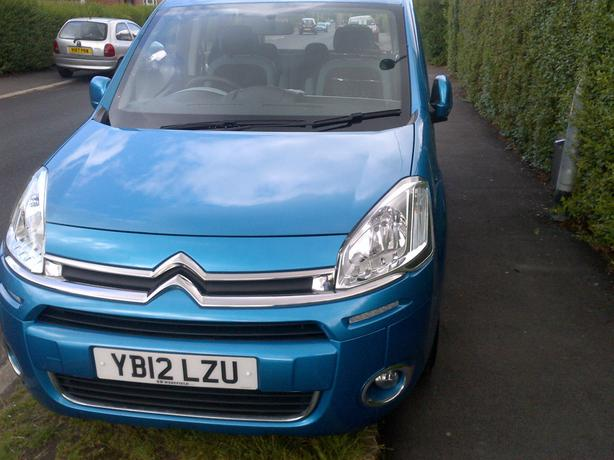 2012 Citroen Berlingo Blue