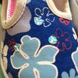 Clarks Doodles Blue flower Girls size 6F