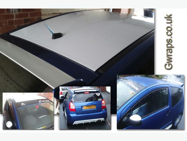 Car roofs vinyl wrapped from £75