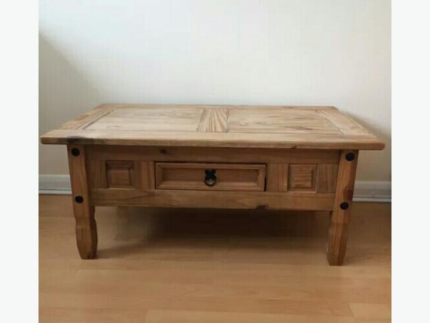 Mexican Pine Coffee Table Tipton Dudley