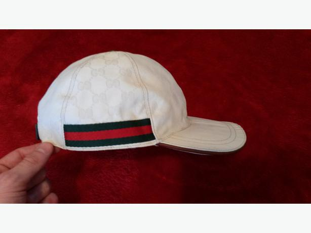 White Gucci Cap DUDLEY f0bc4ab4633