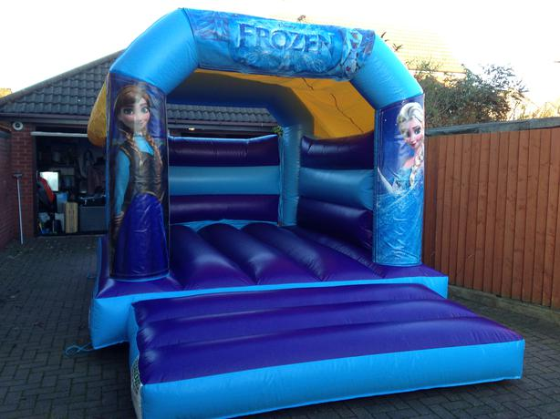 FROZEN THEME BOUNCY CASTLE HIRE