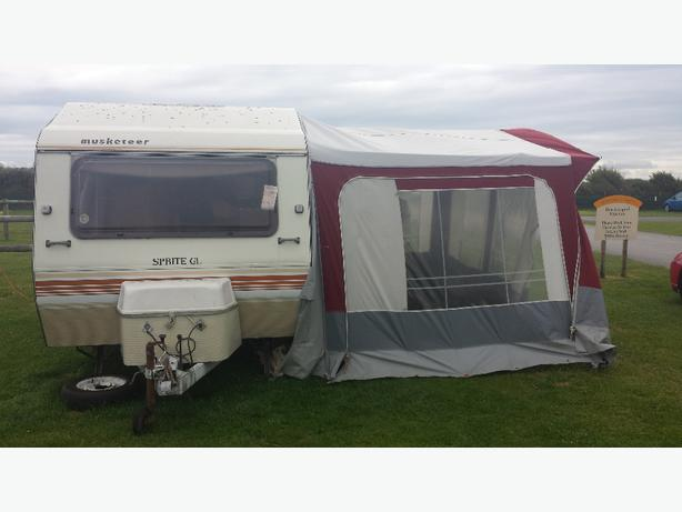 caravan with full awning West Bromwich, Walsall