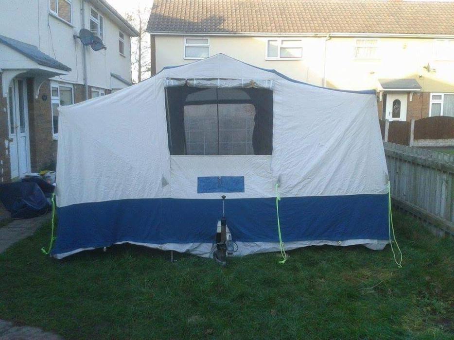 Conway Contiki L 4 7 Berth Trailer Tent 163 220 Ono