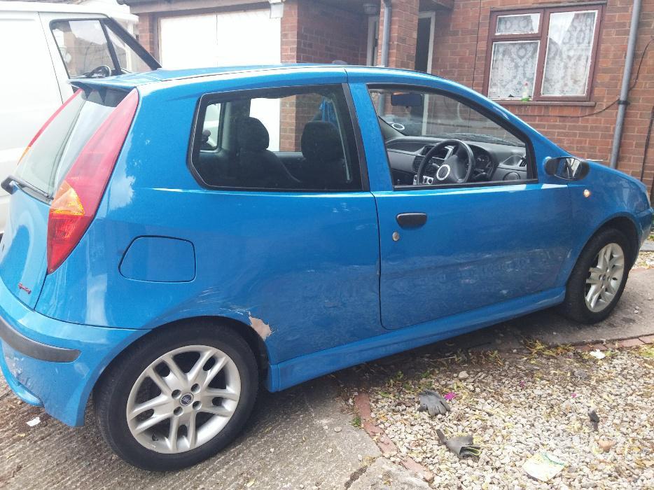Fiat Punto 1 2 Sporting 2000 Spares Or Repair Wednesbury Wolverhampton