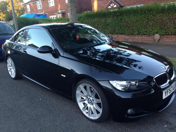 bmw 320d m sport coupe 2008 sandwell dudley. Black Bedroom Furniture Sets. Home Design Ideas