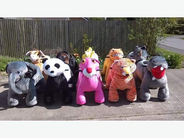 Coin Operated Animal Rides - Business for sale