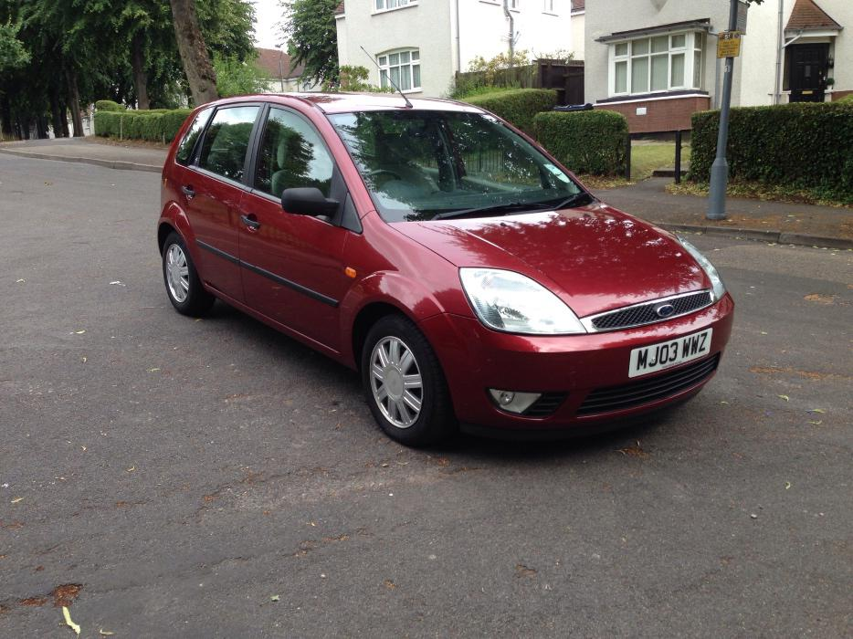2003 ford fiesta ghia 5dr bargain great barr dudley. Black Bedroom Furniture Sets. Home Design Ideas