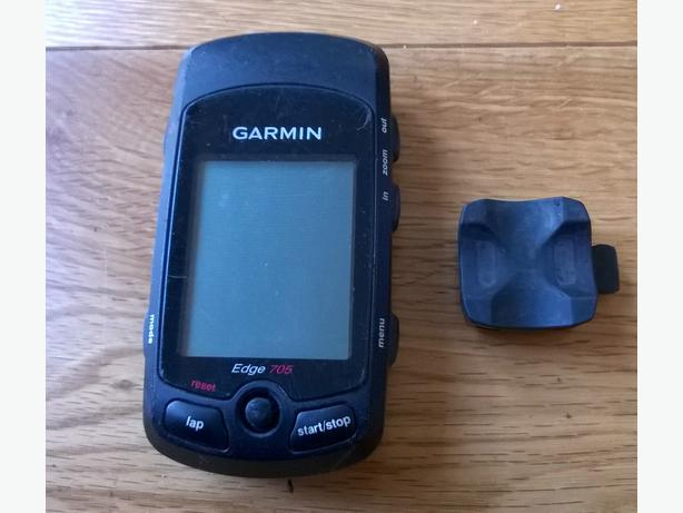 Garmin 705 GPS cycle Computer. Data and Mapping. Upload to Strava - Look! DUDLEY, Wolverhampton