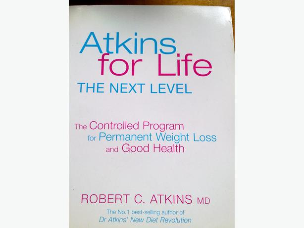 Atkins for life book
