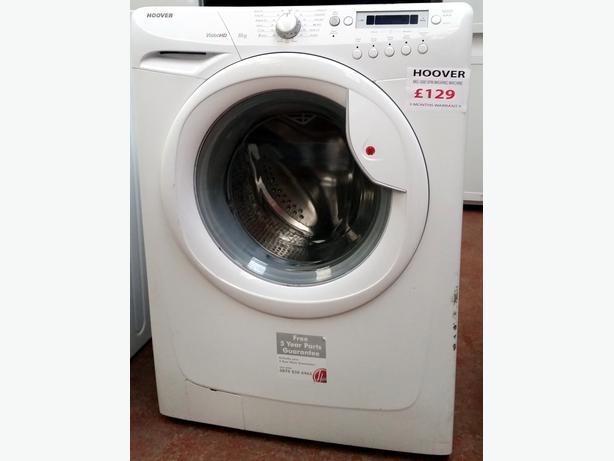 hoover vision hd 8kg 1600 spin washing machine warranty darlaston wolverhampton. Black Bedroom Furniture Sets. Home Design Ideas