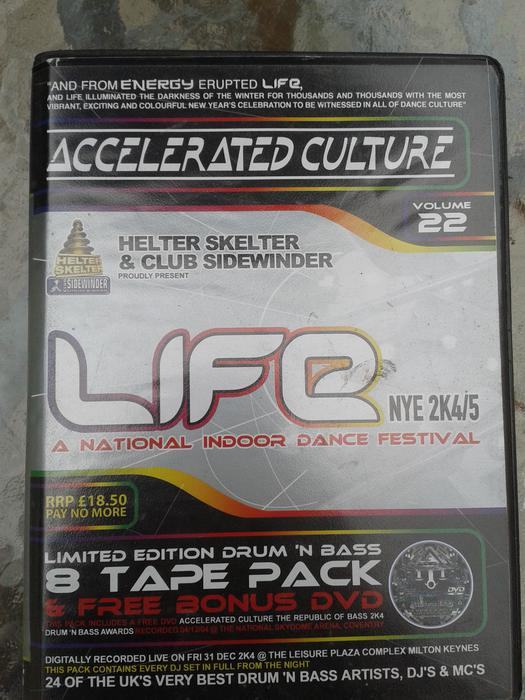 drum and bass tapepacks 1 garage pack wednesbury dudley