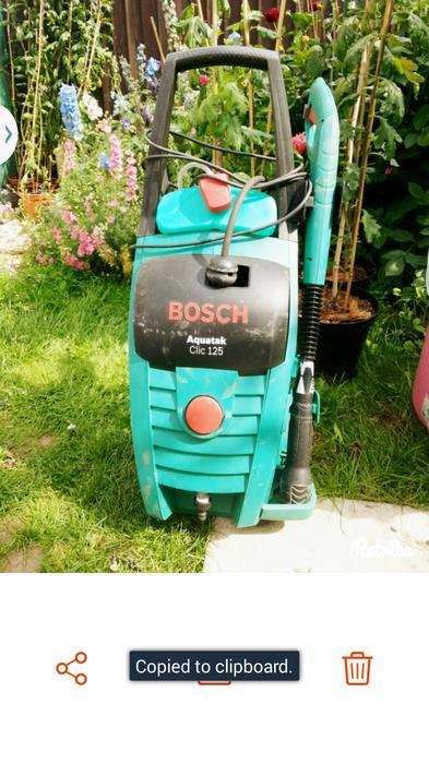 bosch aquatak clic 125 pressure washer wolverhampton. Black Bedroom Furniture Sets. Home Design Ideas