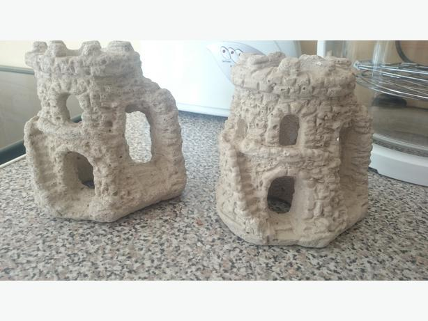 concrete castles x2 £5each or both for £8.50