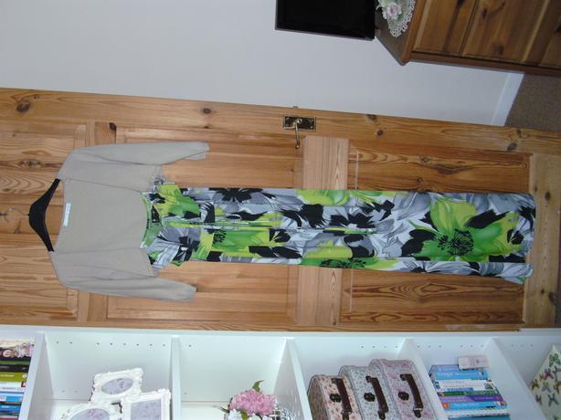 GREEN / LIME MAXI DRESS