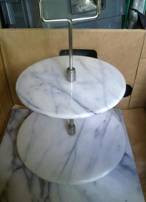 Used Volkswagen Passat >> white marble cake stand WOLVERHAMPTON, Dudley