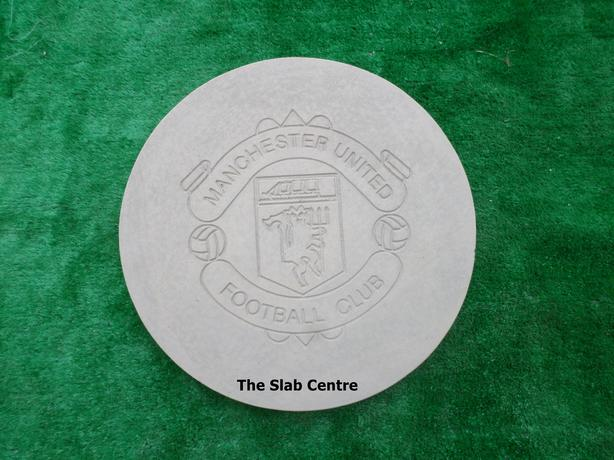 New Grey Concrete Manchester United Stepping Stones