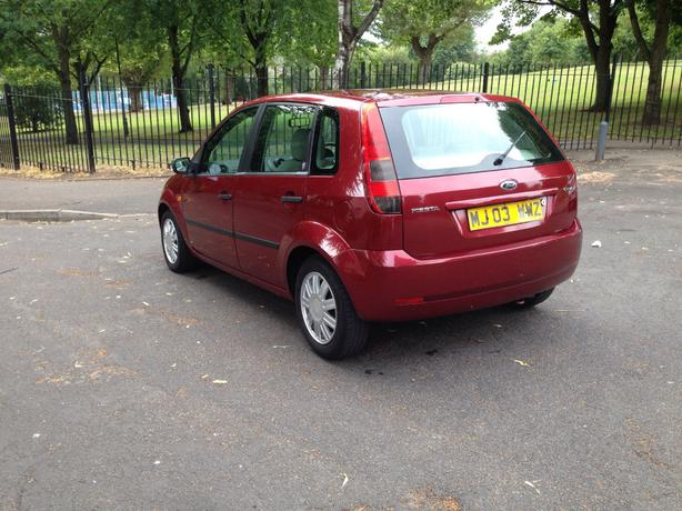 2003 ford fiesta ghia 1 6 petrol long mot bargain great barr sandwell. Black Bedroom Furniture Sets. Home Design Ideas