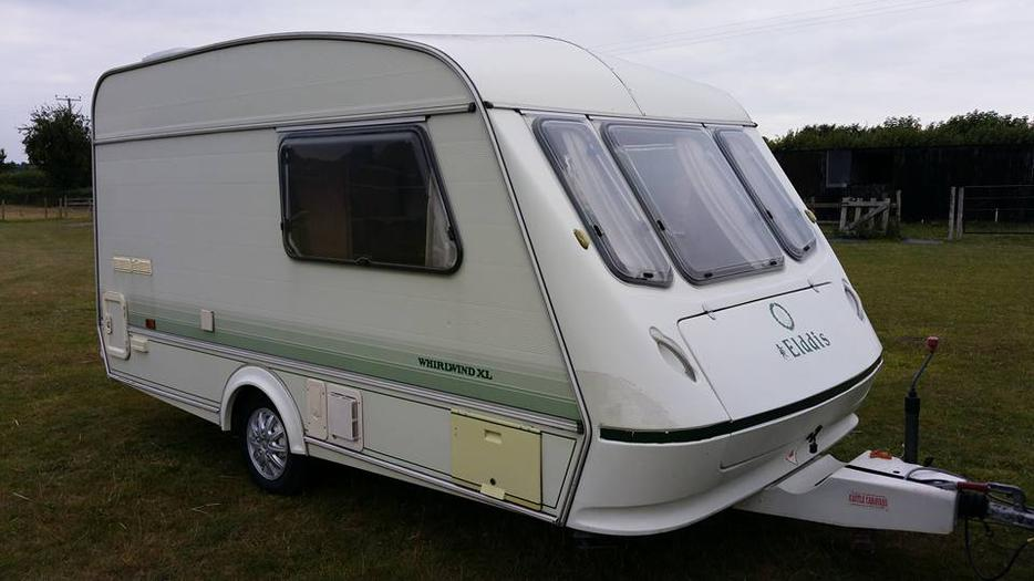 Elddis Whirlwind Xl 2 Berth Caravan With Full Awning