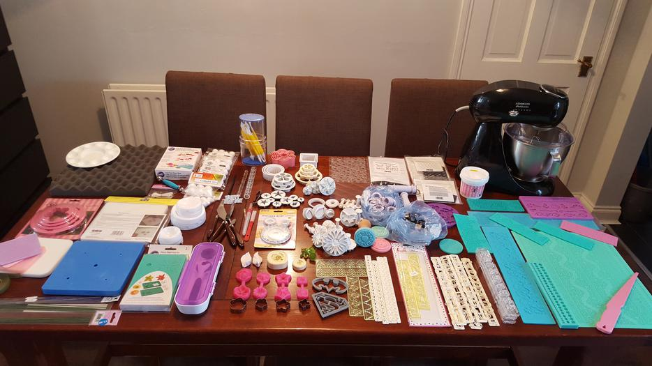 Cake Decorating Job Lot : Massive job lot of cake making / decorating items inc ...