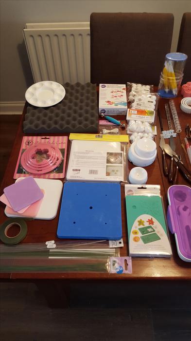 Massive job lot of cake making / decorating items inc ...